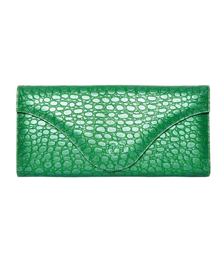 Coco Green Clutch_1346417333250