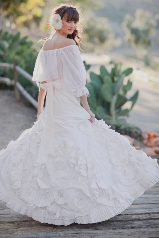 Mexican Spanish Wedding Dress Star Ranch Heavenly Blooms