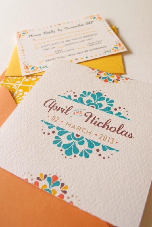 modern-mexican-tile-wedding-invitation-660x989