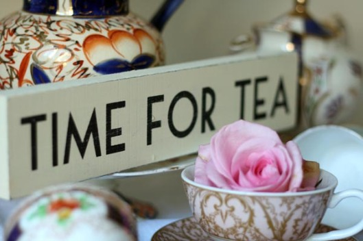 time-for-tea-wedding-sign