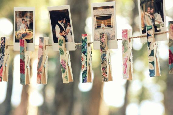 Decoraci n con pinzas bodaplanning - Foto deco ...
